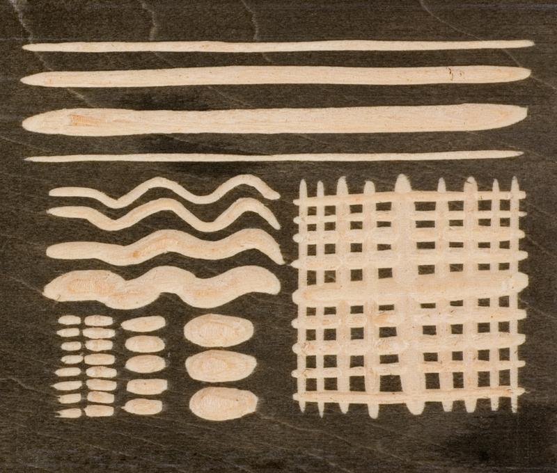 Examples of komasuki carvings