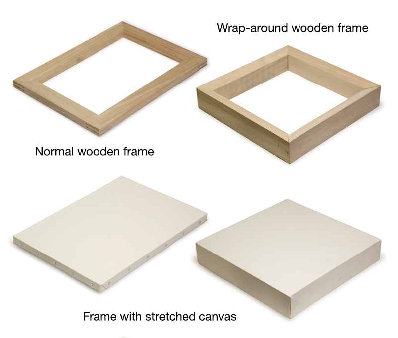 Stretcher Frames | MAU ART & DESIGN GLOSSARY|Musashino Art University