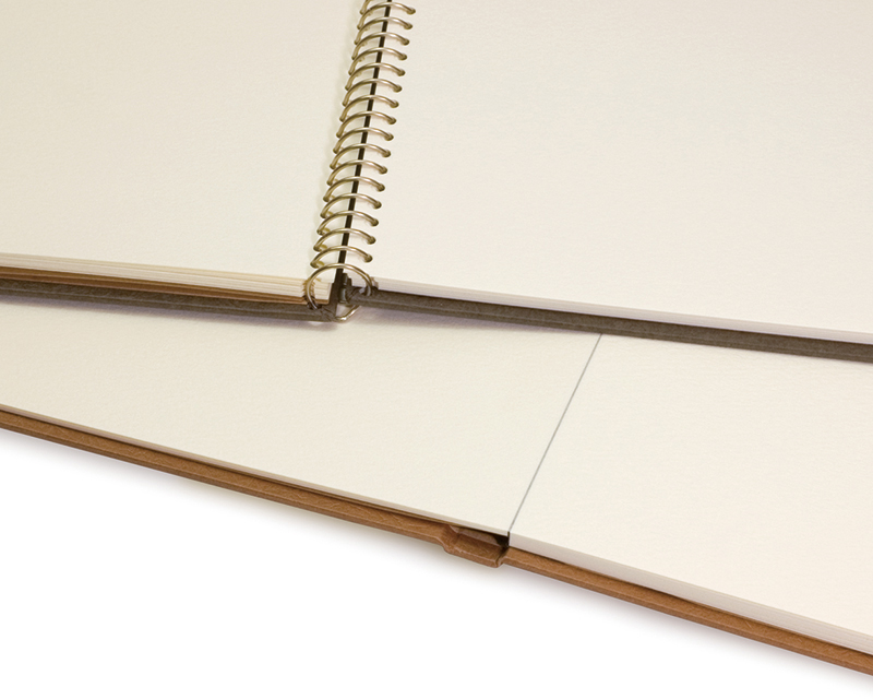 Spiral binding and block binding