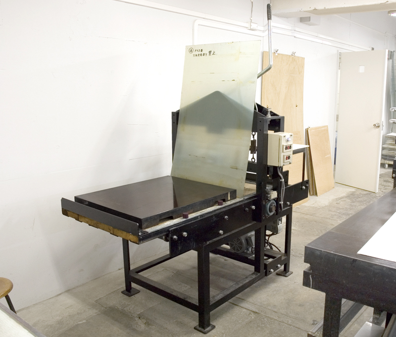 Motorized planographic printing press