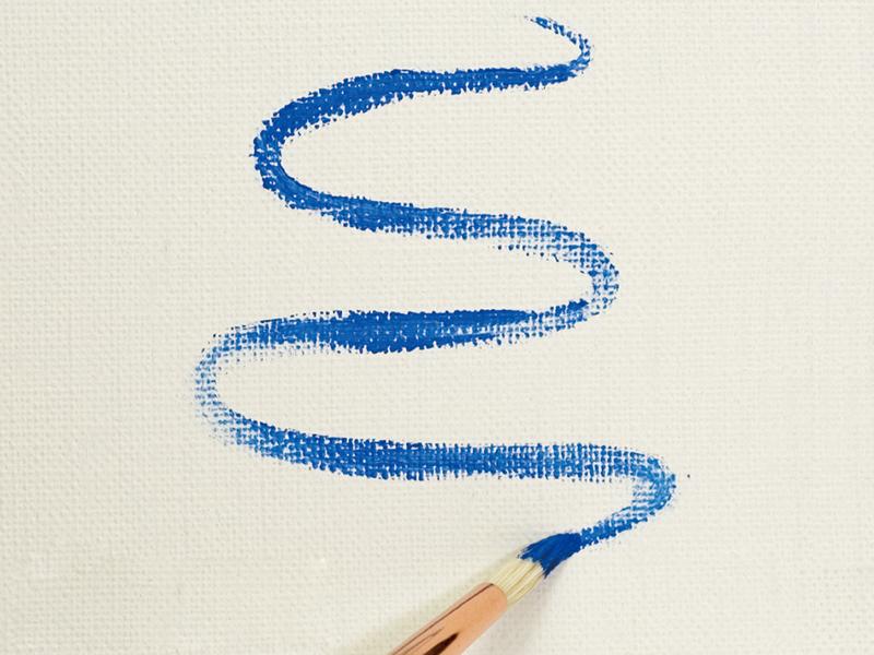 Making supple, smooth lines (round brush)
