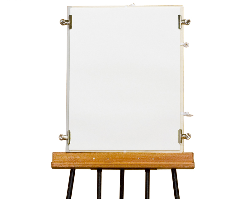 Used as a drawing board