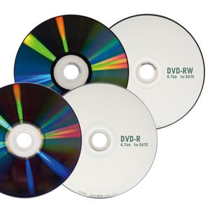 DVD-R, DVD-RW