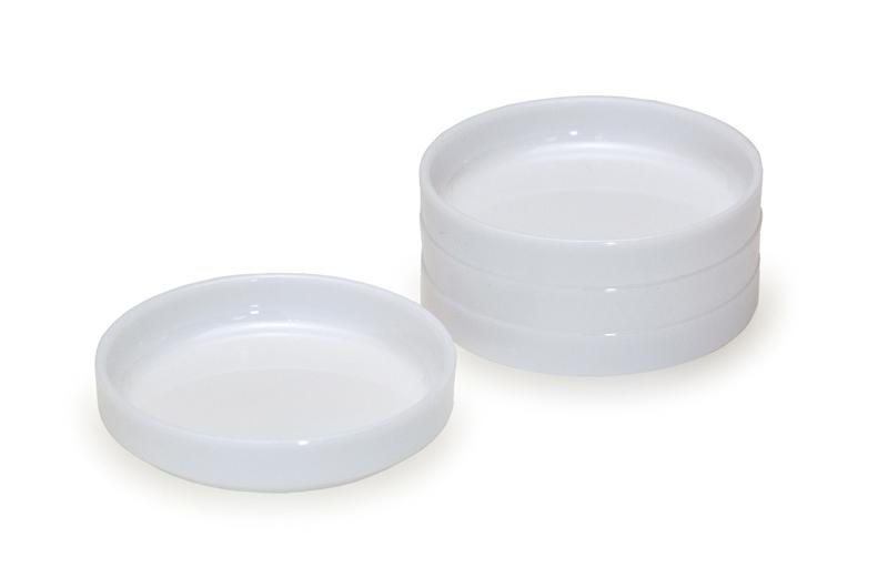Saucer-shaped palettes