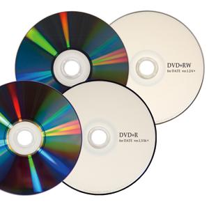 DVD+R, DVD+RW