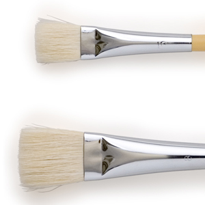 Flat Brushes (For Japanese Painting)