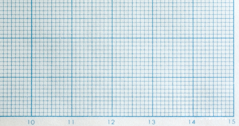 1-mm graph paper