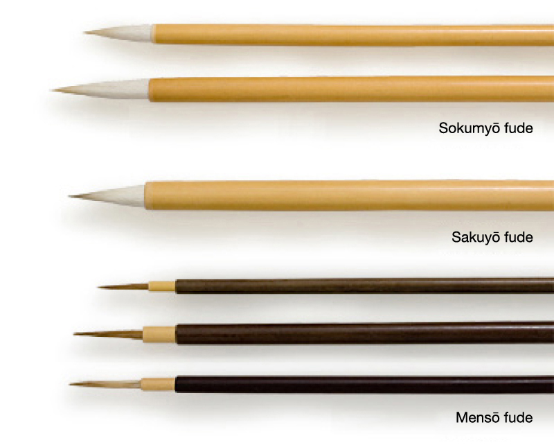 Line drawing brushes