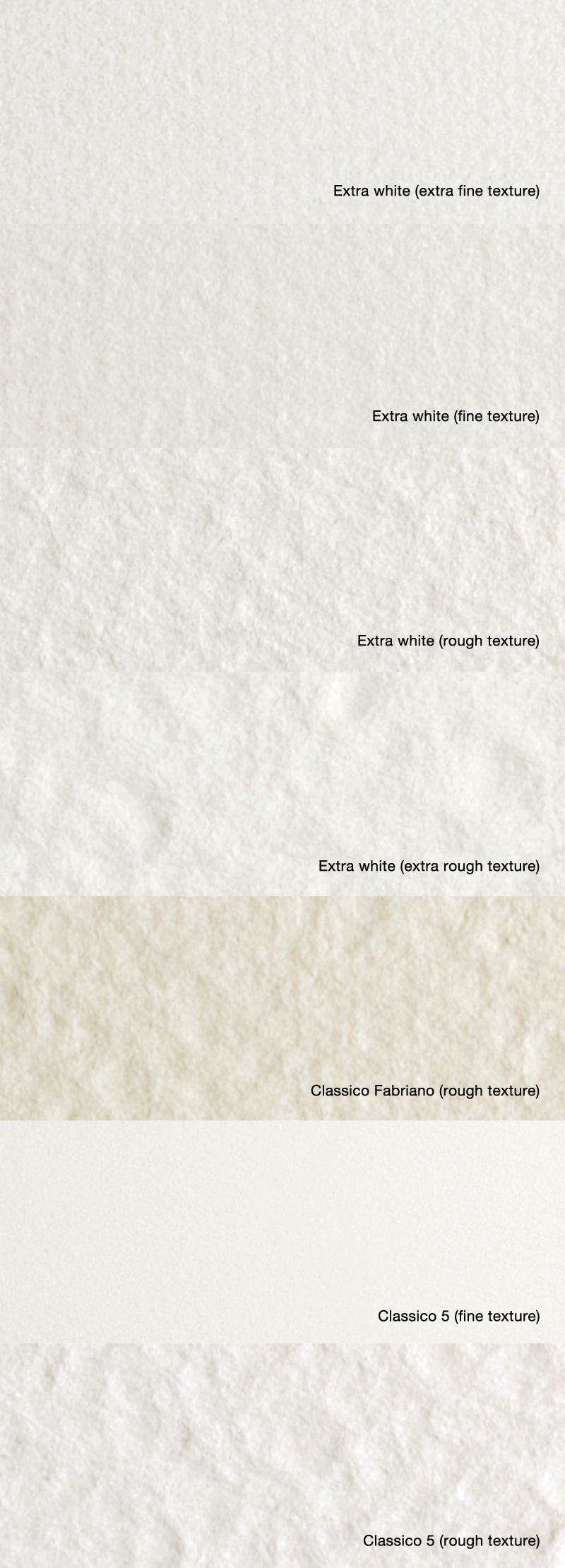 Fabriano watercolor paper (close-up)
