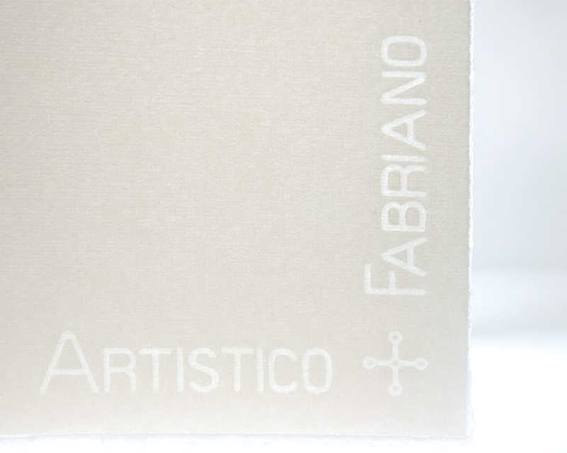 fabriano watercolor paper Fabriano artistico watercolour paper is mould made, produced with 100% cotton, chlorine and acid free, guaranteeing long conservation and inalterability over time.