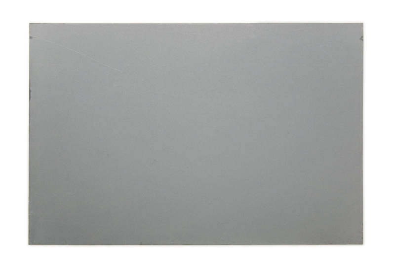 Zinc plate used in lithography