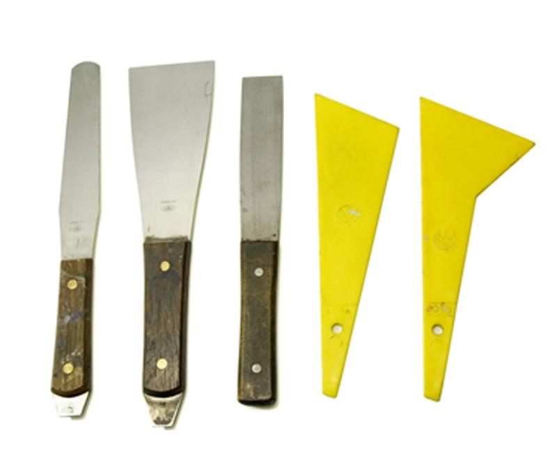 Ink spatulas