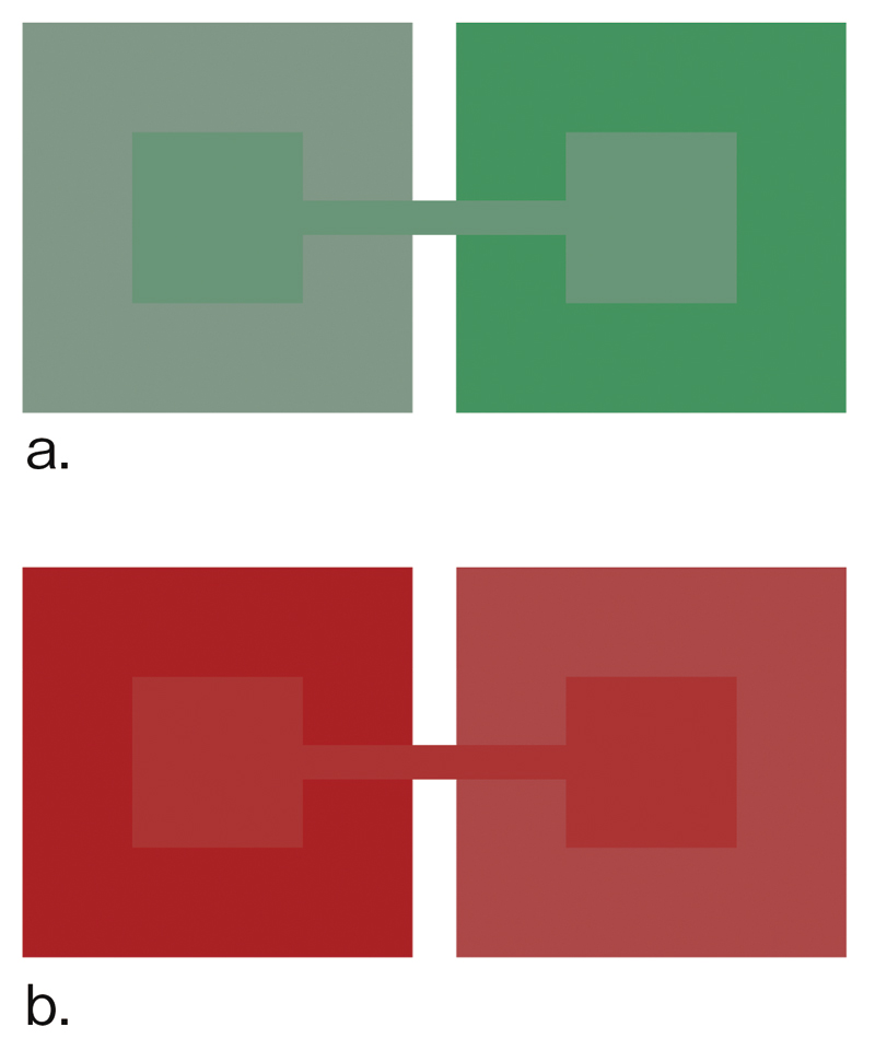 Munsell color system equal hue color chart (Hue: 5R)
