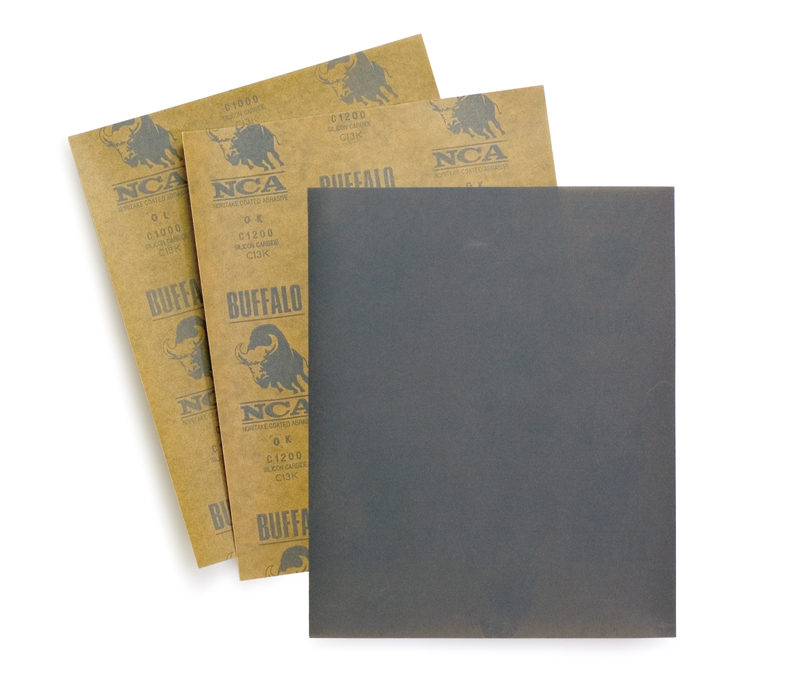 Wet and dry sandpaper